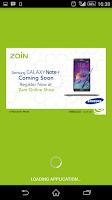 Screenshot of Zain SA