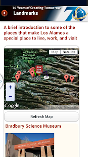 LANL App - screenshot thumbnail