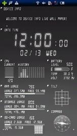 Device Info Ex Live Wallpaper Screenshot 6