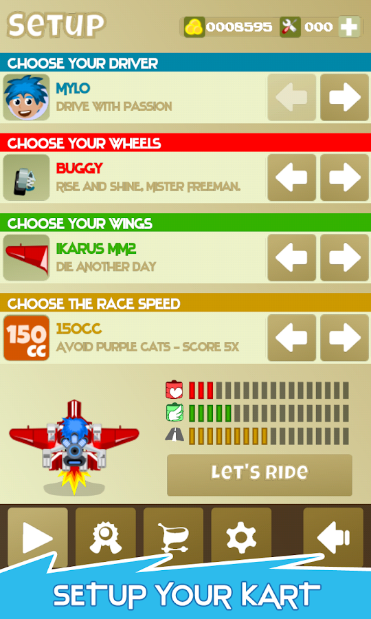 A-Kart Paperboy : Runner Game - screenshot