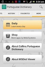 Collins Portuguese_Dictionary - Android Mobile Analytics and App Store Data
