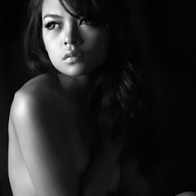 alone by Ivan Lee - People Portraits of Women ( canon, sexy, model, girl, beauty,  )