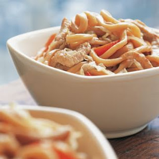 Shanghai Noodles with Pork.