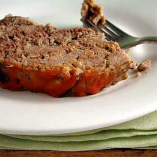 Slow-Cooker Meat Loaf with Shiitake Mushrooms.