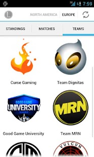 LoL eSports by Leaguepedia - screenshot thumbnail