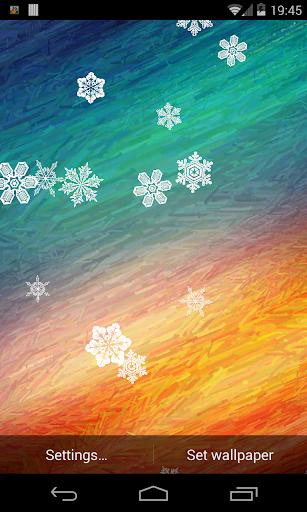 Snowflake Live Wallpaper Demo