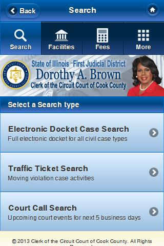 Court Clerk Mobile Connect- screenshot