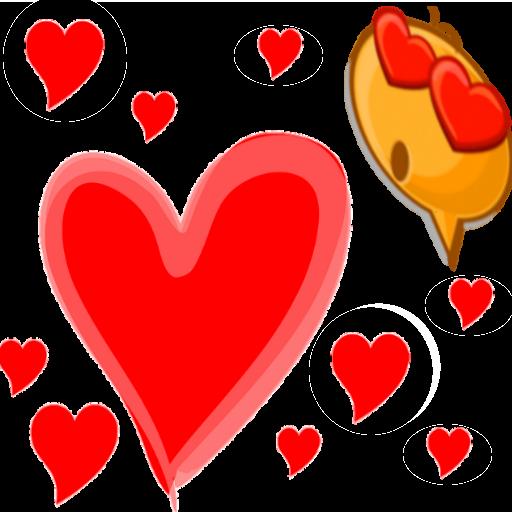 表情符號愛情加 LOGO-APP點子