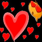 emoji love plus