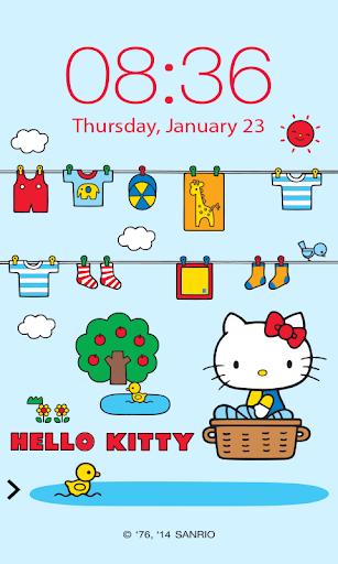 Hello Kitty FineDay ScreenLock