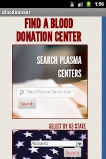 Emergency Blood Bank Directory - screenshot thumbnail