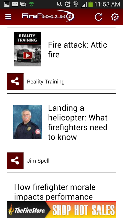 FireRescue1 - screenshot