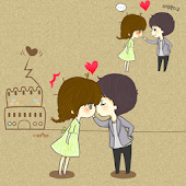 CUKI Themes Love Story Wall