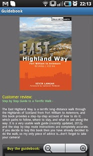 East Highland Way - screenshot thumbnail
