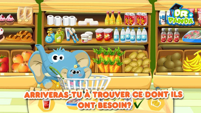 android Dr. Panda: Supermarché Screenshot 1