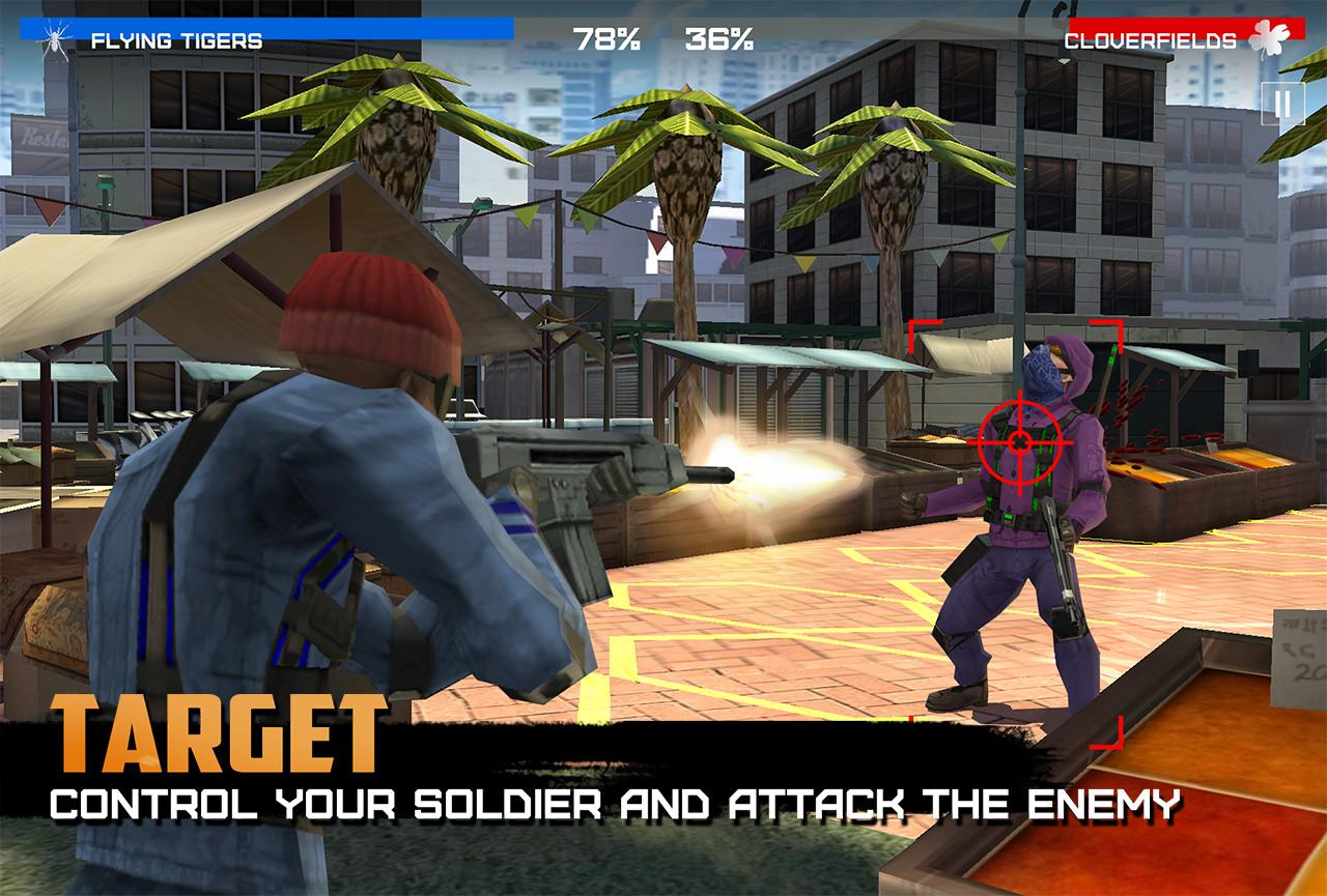 الرائعة Android Rivals Firefight v1.3.2