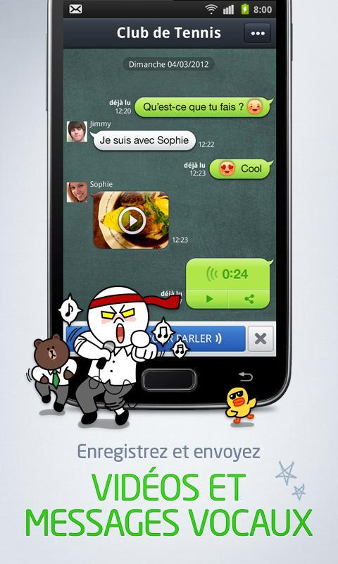 LINE: Appel & message GRATUITS - screenshot