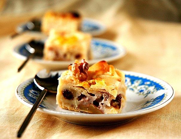 Apple and Nut Tart Recipe