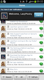 LazyTown Forum - GetLazy - screenshot thumbnail