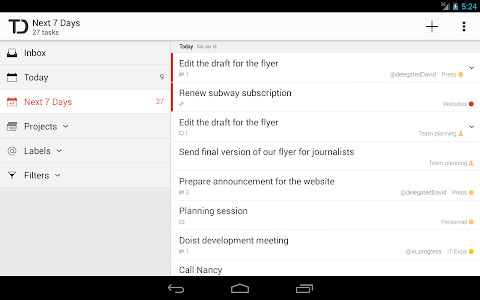 Todoist: To-Do List, Task List v5.1