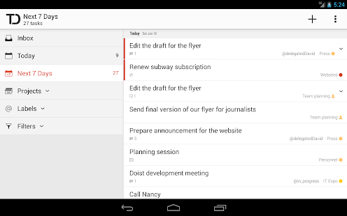Todoist: To-Do List, Task List Screenshot 27