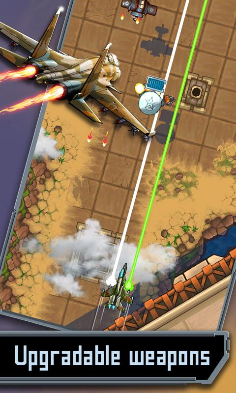 Mig 2D: Retro Shooter! - screenshot