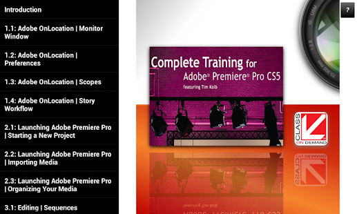 Training Adobe® Premiere® CS5- screenshot thumbnail
