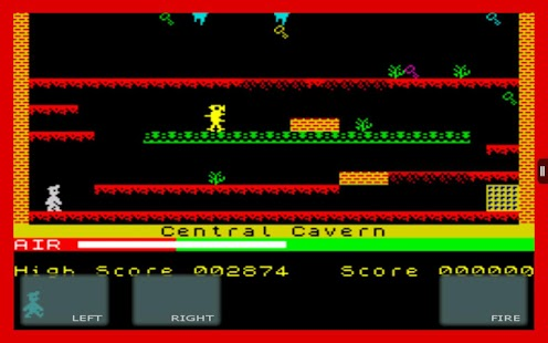 Manic Miner: ZX Spec (SIII)- screenshot thumbnail