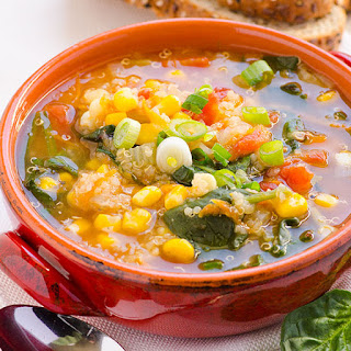 Spinach Quinoa Soup