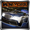 Illegal racing 3D New York icon