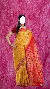 Wedding Saree Photo Montage screenshot 4