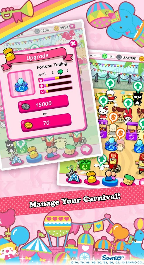 Hello Kitty Carnival! - screenshot