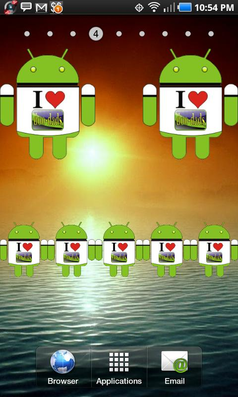 Droid I love doo-dads! - screenshot