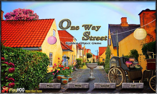 One Way Street - Hidden Object