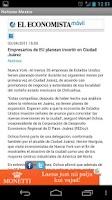 Screenshot of Mexican News