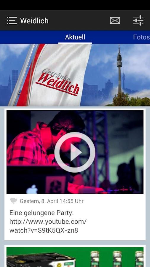 Getränke Weidlich GmbH - screenshot