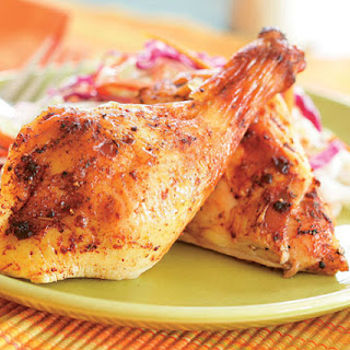 Beer-Brined Butterflied Chicken