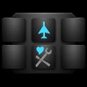 Flight Mode Swipe Settings icon