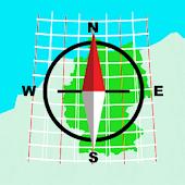 German Grid Ref Compass