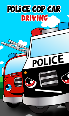 Police car games for kids free - screenshot