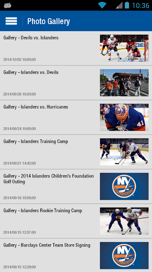 New York Islanders - screenshot