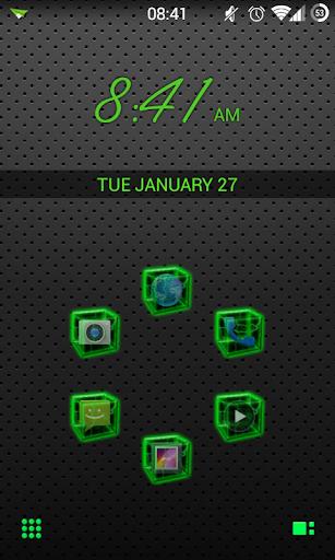 SL Green Thunder Theme