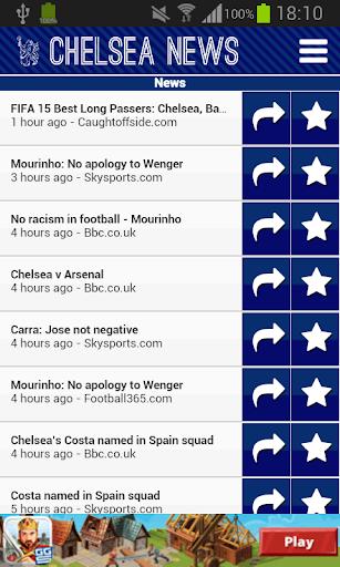 Chelsea News