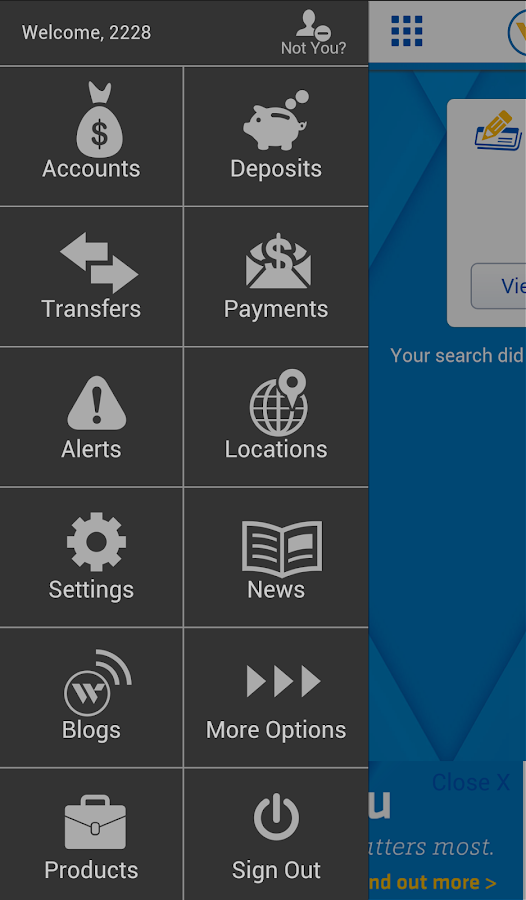 Webster Bank® Mobile- screenshot