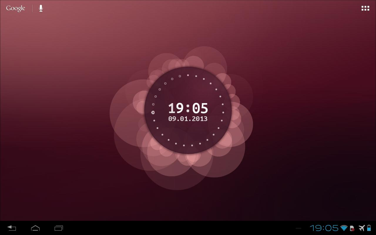 Ubuntu Live Wallpaper Beta- screenshot