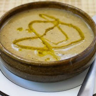 Greek Chickpea Soup with Lemon and Olive Oil (Revithia).
