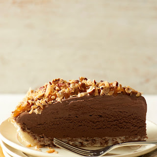 German Chocolate Ice Cream Pie.