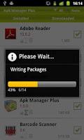 Screenshot of Apk Manager Plus