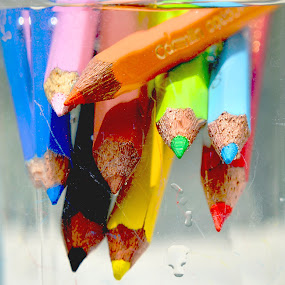 The Canvas of Life is waiting…for some bright colors. Let us add some shades of Joy, Love, Peace and Happiness to it. by Abhijeet Kumar - Artistic Objects Education Objects ( colors, pencil color, colors in life, life of colors )