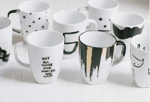 DIY Craft Mugs